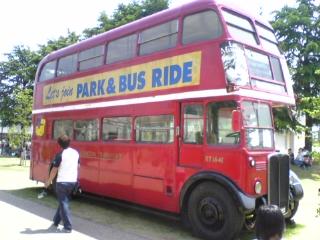 緑化フェア 35 バス