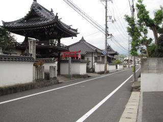 津山 お寺の通り