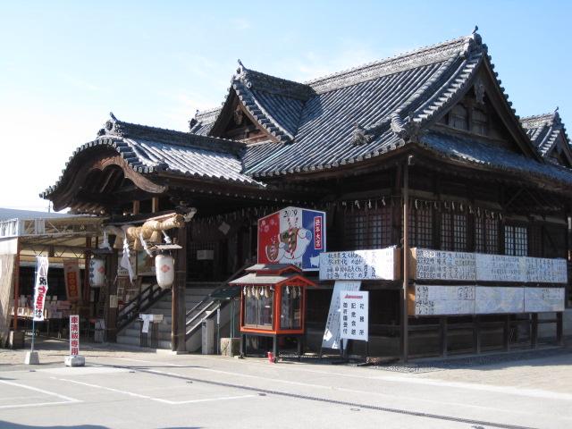 神社 沖田