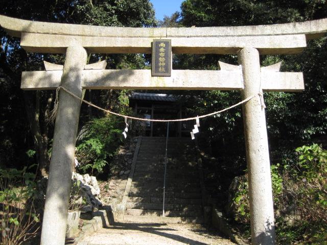 雨垂布勢神社 5