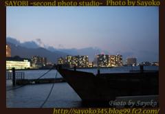 琵琶湖の夜景 0188