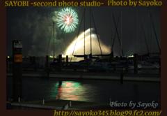 湖上の花火 0189