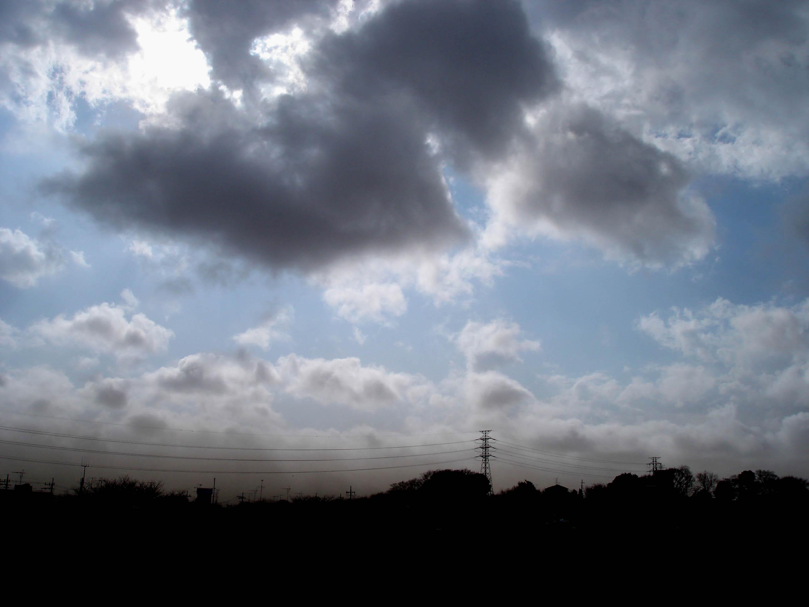 Dsc00437 旋風の通過44 西方面の様子①