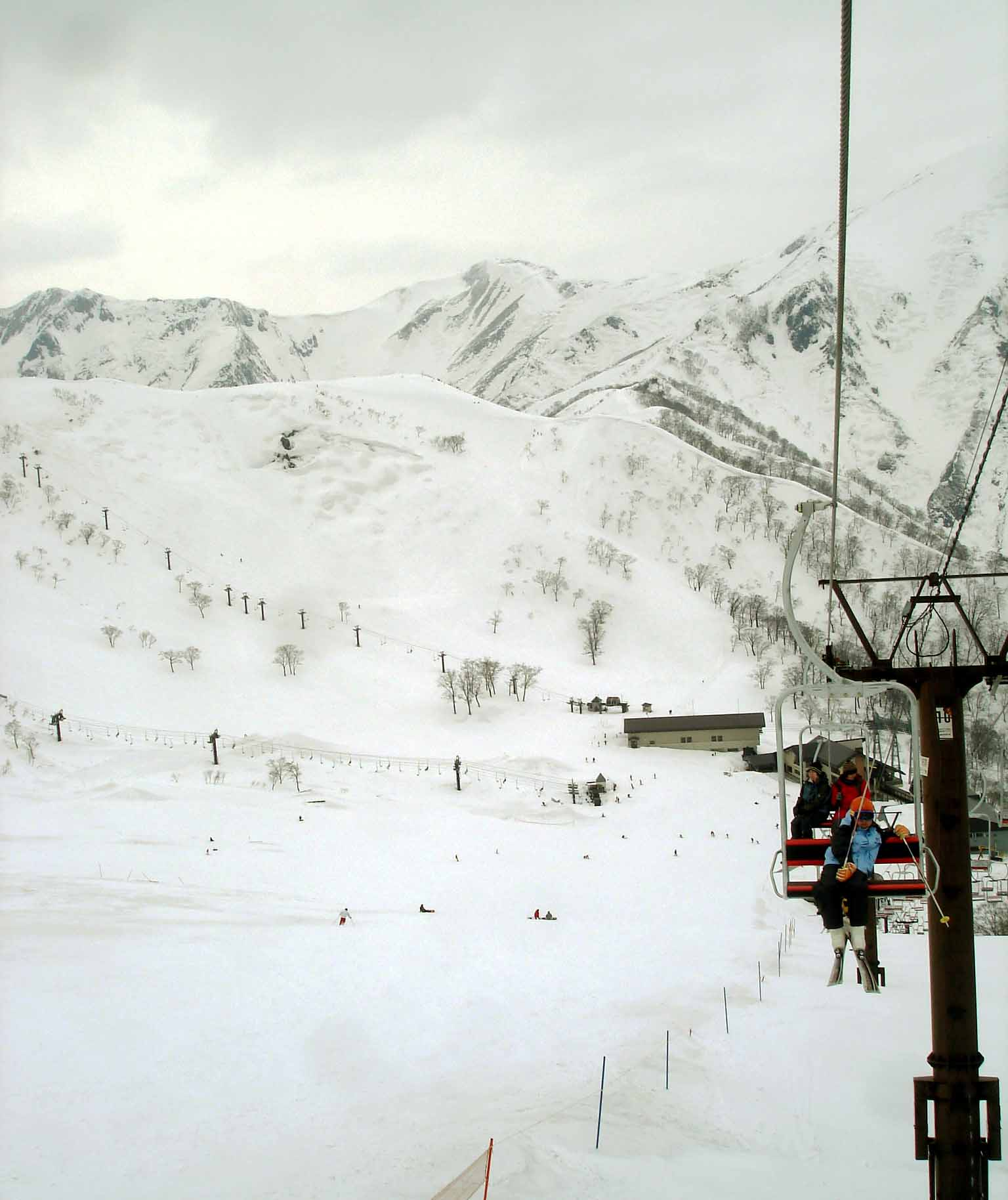 Dsc00338 スキーリフトより