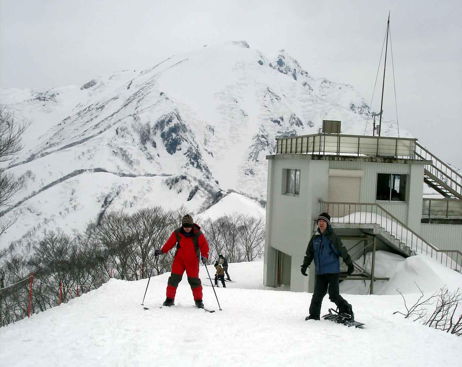 Dsc00350 スキー(天神峠)