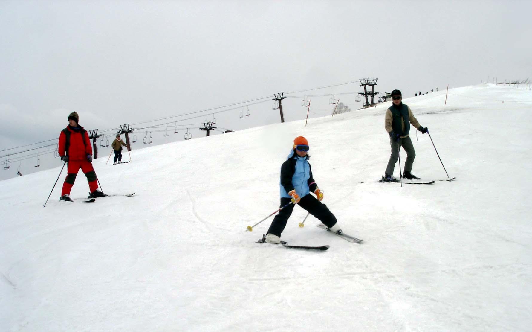 Dsc00344 スキーを楽しむ