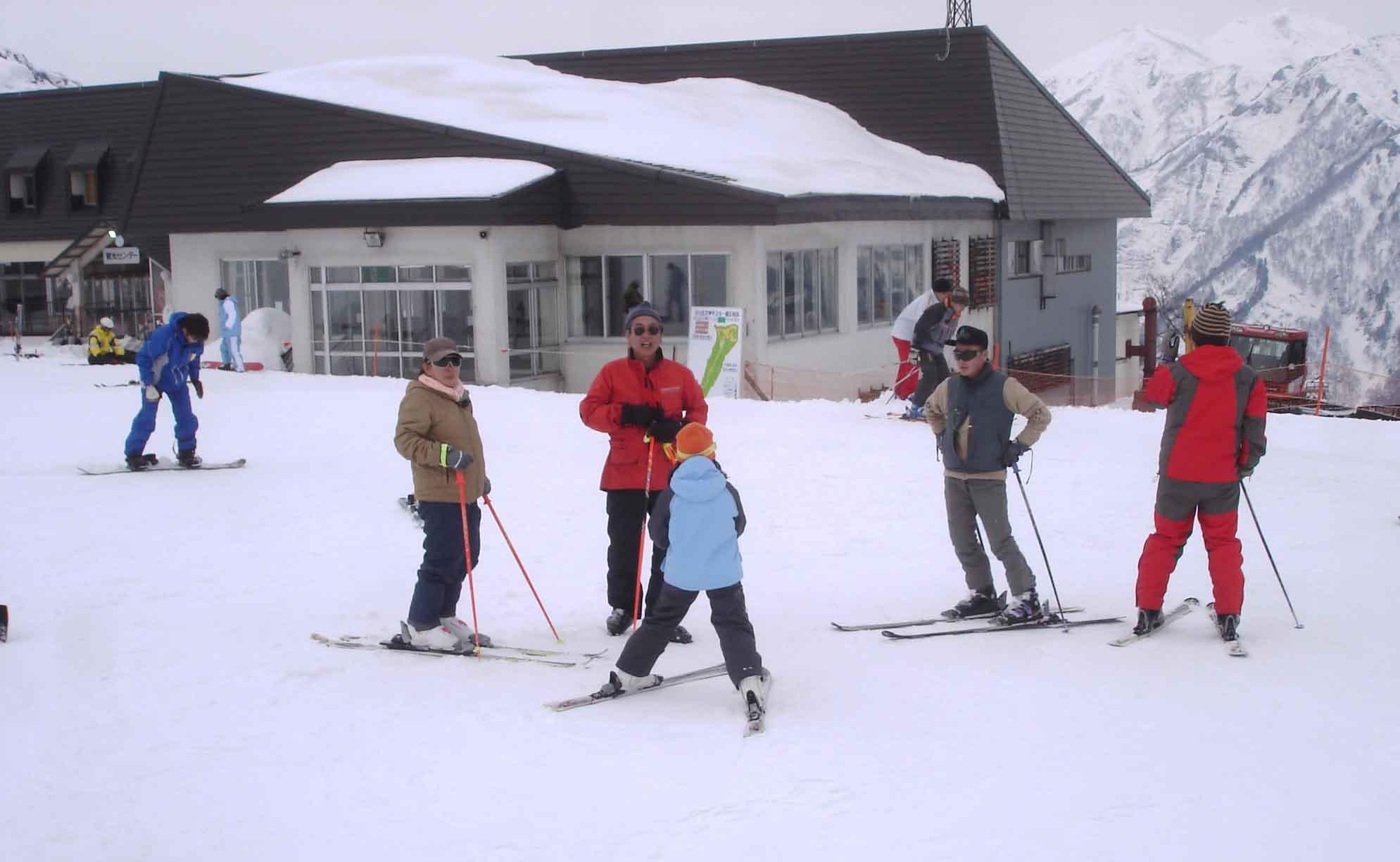 Dsc00334 スキー(レストハウス近く)
