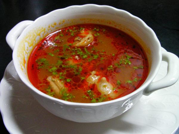 ぼんじりスープ