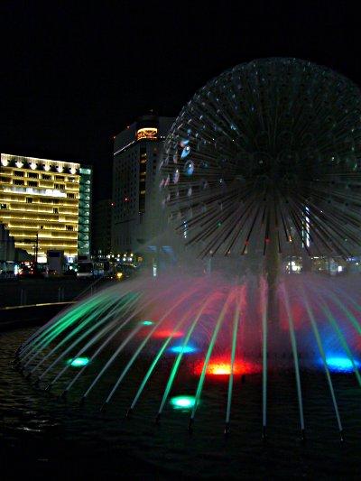 岡山駅前噴水