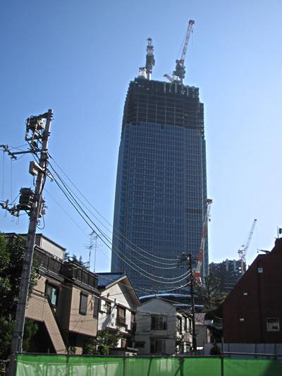 新しいビル