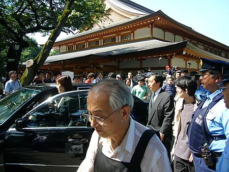 靖国神社 2007年終戦記念日