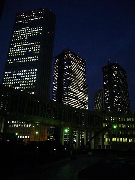 新宿夕焼け