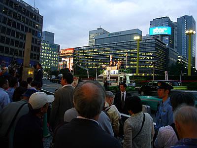 新宿駅西口ロータリー