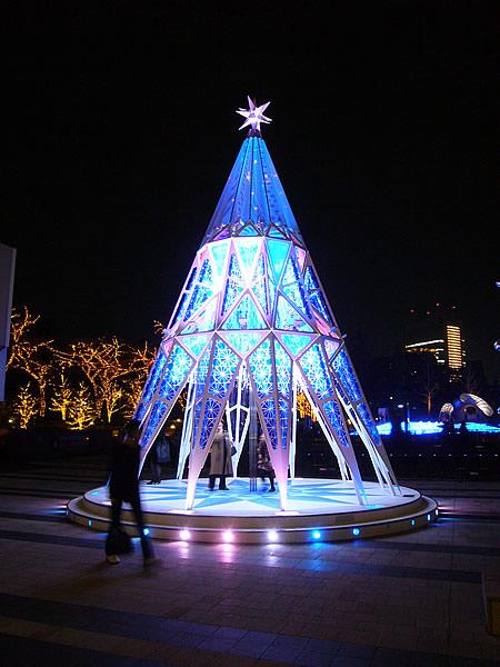 東京ミッドタウンのクリスマスツリー