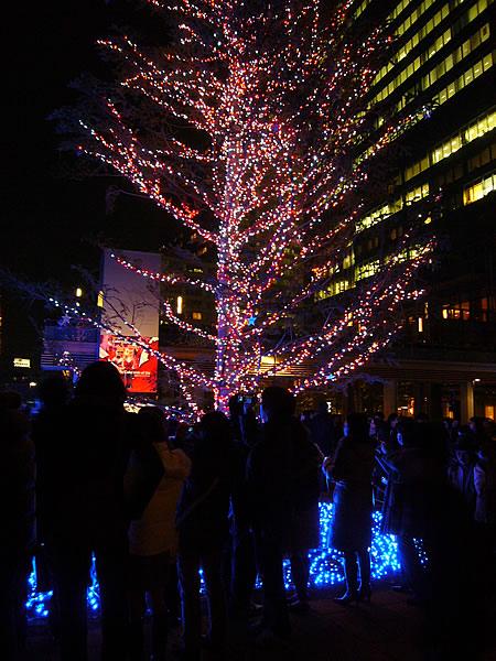 東京ミッドタウン12月25日