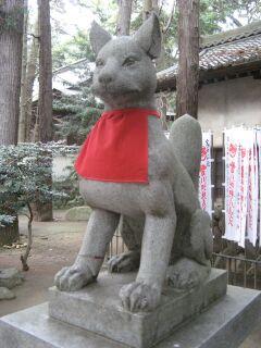 霊狐塚:狛狐1右