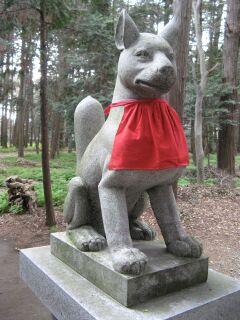 霊狐塚:狛狐1左