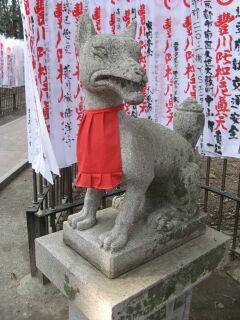 霊狐塚:狛狐2右