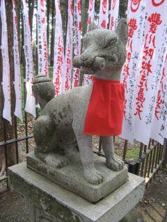 霊狐塚:狛狐2左