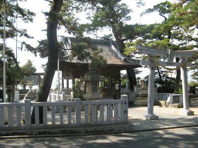 八百富神社 全景