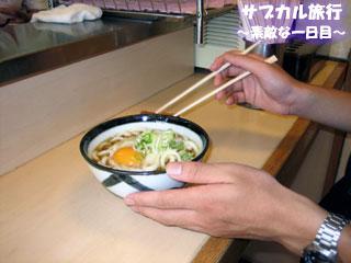 立ち食い蕎麦@甲府駅