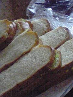20090531のサンドイッチ