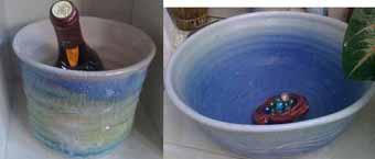 ワイン&水鉢