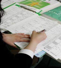 授業内容、今後の課題等については毎回学習プログラムに細かく記録されています。