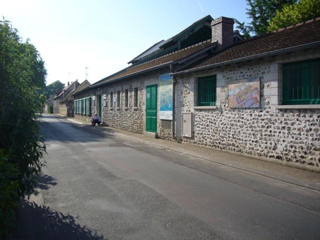 モネの庭と家 入口