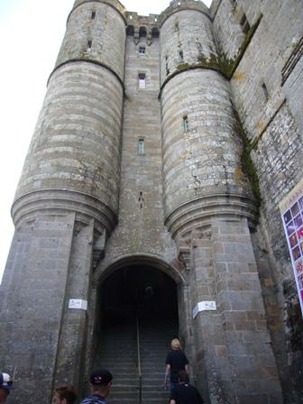 塔の中も階段