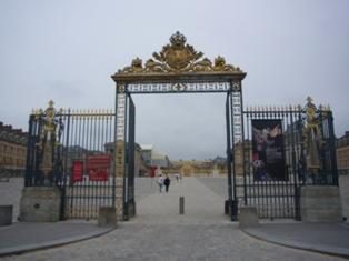 ヴェルサイユ入口