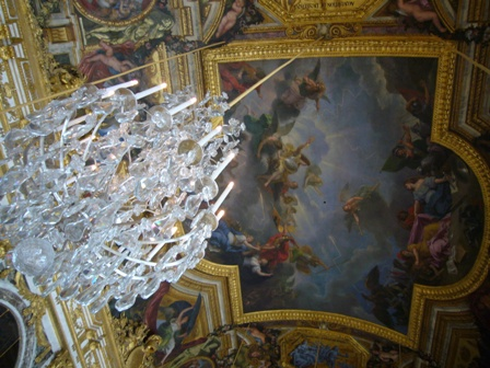鏡の間天井