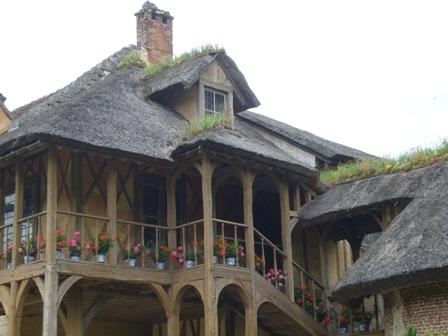 王妃の家の2階
