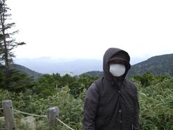 10月23日八甲田山マスク