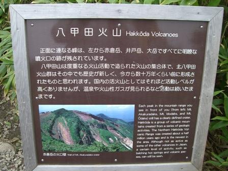 マップ10月23日八甲田山