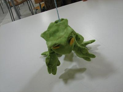かっぱか蛙