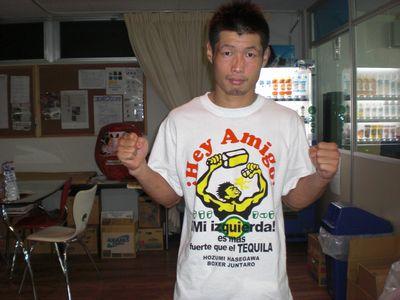 長谷川Tシャツ0929