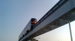 朝の電車?1018