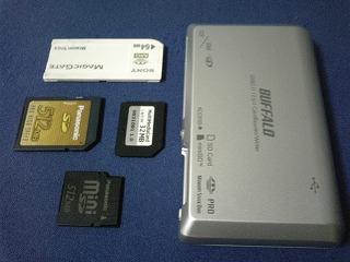 BUFFALO MCR-C12/U2 USB2.0カードリーダー/ライター