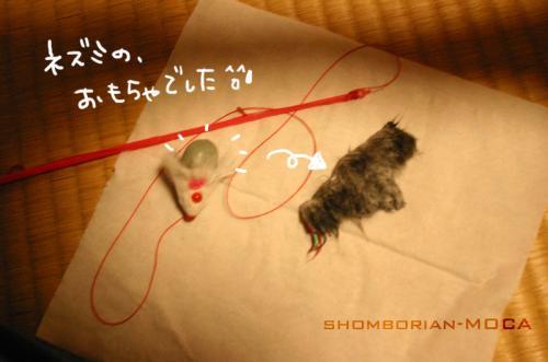 おもちゃのネズミでした~