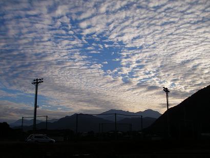 うろこ雲 その3