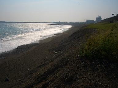 b茅ヶ崎砂浜侵食