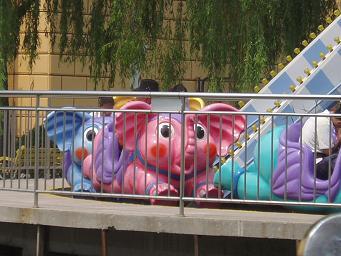 ピンクの象ってヤクキメたときの幻覚のことじゃなかったっけ?