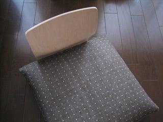 座いすと座布団