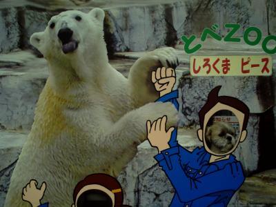 白熊ピース