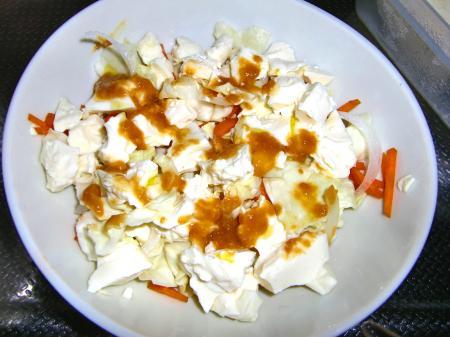 トウフサラダ