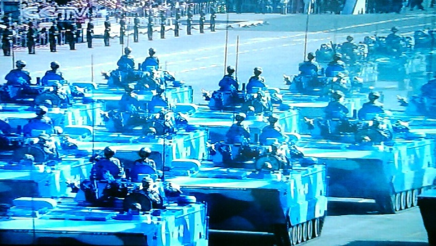 blue tanks