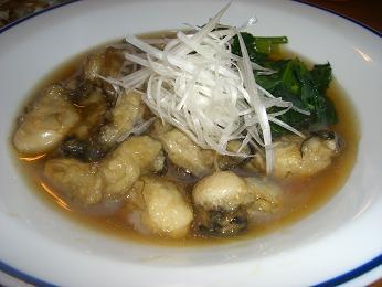 牡蠣のプルプル煮