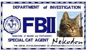CAT連邦捜査官 NO.015 「Nekodon」