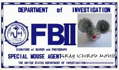 gray ICHIROU mouse FBⅡ
